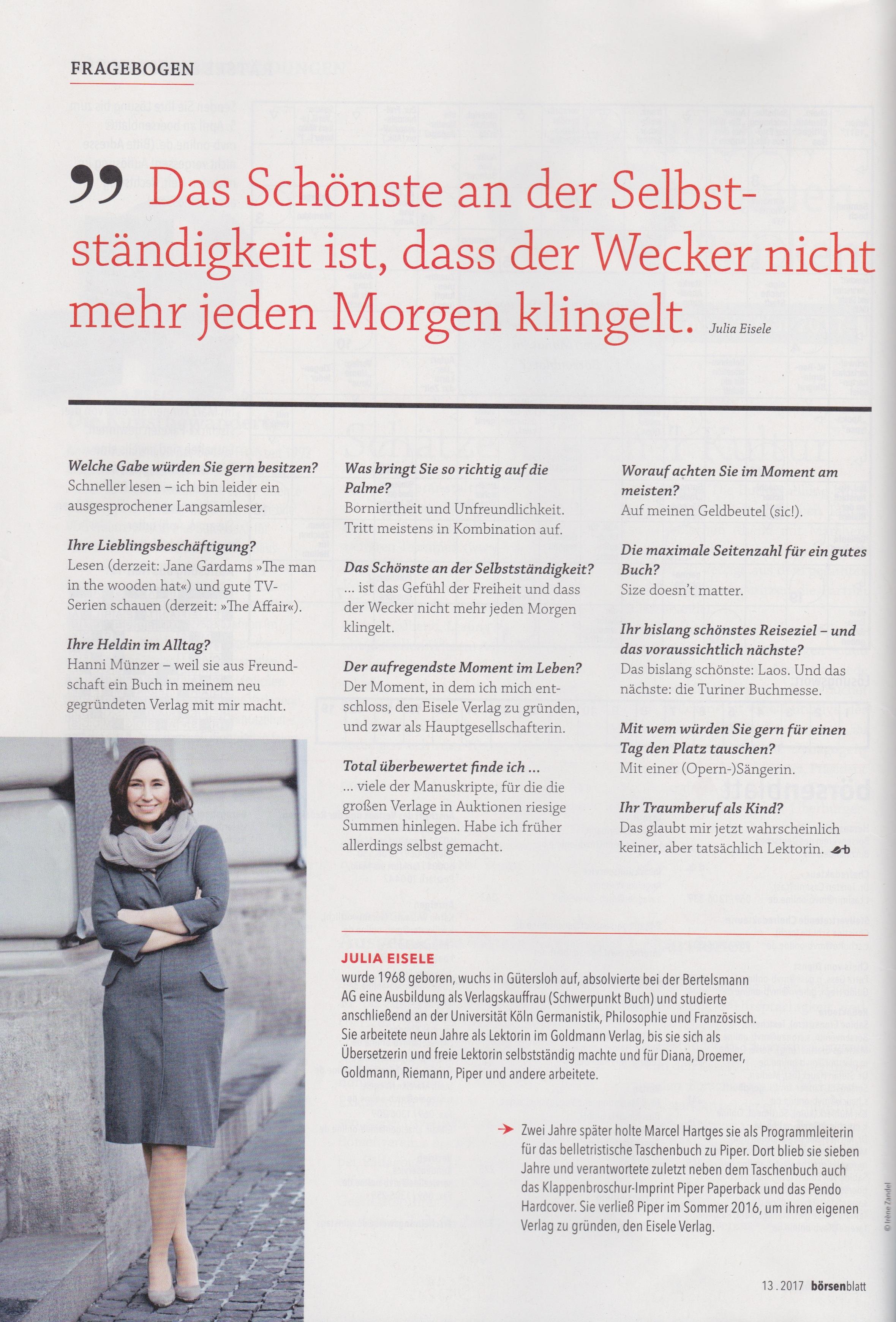 Aktuelles Eisele Verlag